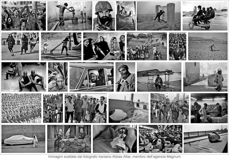 Immagini scattate dal fotografo Iraniano Abbas Attar, membro dell_agenzia Magnum_1